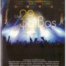 FOIVOS Live 4 cd set 20 years Vandi Garbi Dimitriou Karras Remos 76 tracks