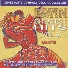 Mamita LATIN GREATEST HITS VOL.3 10 tracks CD