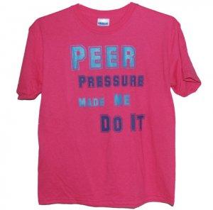 Peer Pressure Girls Tee (AZALEA)