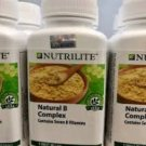 NEW NUTRILITE AMWAY Natural B Complex Contains 7 B Vitamins - 250 Tablets - FS