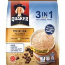 12 Sachets X 28 Grams QUAKER OAT CEREAL DRINK 3-IN-1 MOCHA flavor