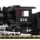 Piko G 38220 MOGUL D&RGW 216 STEAM LOCOMOTIVE (G-SCALE) Mint In Box