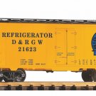 Piko G 38826 D&RGW STEEL REEFER, MOFFAT LOGO (G-SCALE) Mint In Box