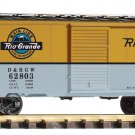 Piko G 38848 D&RGW STEEL BOXCAR (G-SCALE) Mint In Box