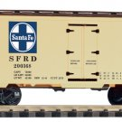 "Piko G 38886 SANTA FE ""TRAVEL THE CHIEF WAY"" STEEL REEFER (G-SCALE) Mint In Box"