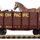 Piko G 38725 UNION PACIFIC HIGH-SIDE GONDOLA W/ HORSES (G-SCALE) Mint In Box