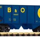 Piko G 38882 CHESSIE/B&O RIB-SIDE HOPPER CAR (G-SCALE) Mint In Box
