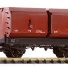 Piko G 37770 DB III COKING COAL CONTAINER CAR (G-SCALE)