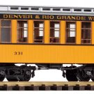 Piko G 38600 D&RGW WOOD COACH #331 (G-SCALE) Mint In Box