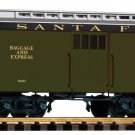 Piko G 38626 SANTA FE WOOD BAGGAGE CAR (G-SCALE) Mint In Box