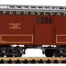 Piko G 38627 PRR WOOD BAGGAGE CAR (G-SCALE) Mint In Box