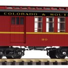 Piko G 38645 C&S WOOD COMBINE (G-SCALE) Mint In Box