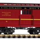 Piko G 38647 C&S WOOD BAGGAGE CAR (G-SCALE) Mint In Box
