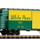 Piko G 38106 WHITE PASS (WP&YR) STARTER SET W/ANALOG SOUND & SMOKE (G-SCALE) Mint In box