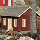 Piko G 62716 RIVER CITY TOMMY'S CABIN BUILT-UP BUILDING (G-SCALE) Mint In box