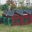 Piko G 62001 SONNEBERG LOCO SHED BUILDING KIT (G-SCALE) Mint In Box