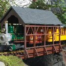 Piko G  62116 COVERED BRIDGE, BUILDING KIT (G-SCALE) Mint In box