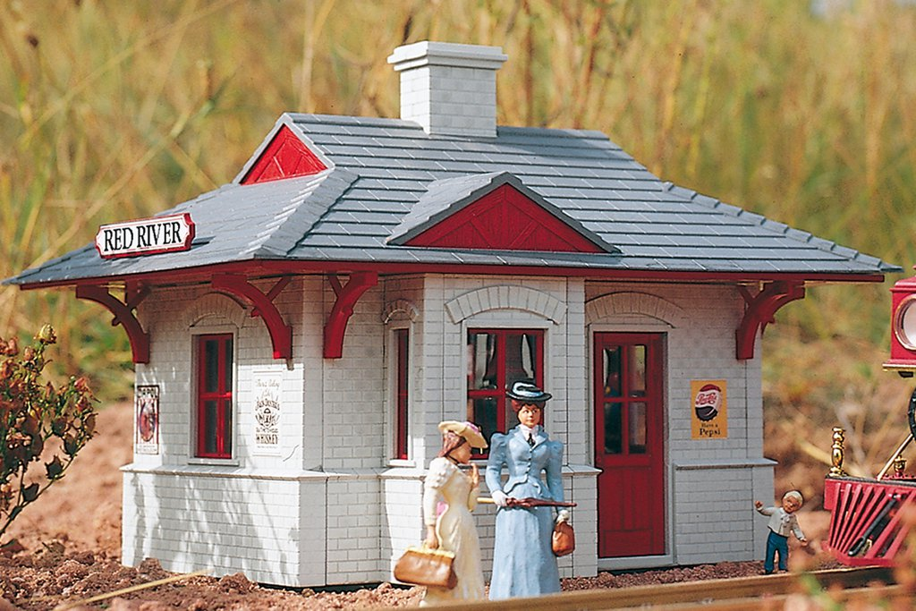 Piko G 62228 RED RIVER STATION, BUILDING KIT (G-SCALE) Mint In box