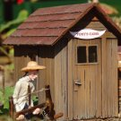 Piko G 62261 LOG CABINS 2-PACK, BUILDING KIT (G-SCALE) Mint In box