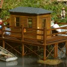 Piko G  62262 BRADS FISHING CABIN, BUILDING KIT (G-SCALE) Mint In Box