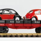 Piko G 38765 BEETLE WAGEN AUTO TRANSPORT (G-SCALE) Mint In box