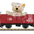 """LGB 42229 Gondola with a """"Steiff Teddy Bear"""" as a Load Mint In Box"""