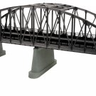 MTH 40-1111 O 2-Track Steel Arch Bridge/blk (was #401060) Mint In box