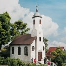 Piko HO  61825 HOBBY LINE ST LUCAS CHURCH, BUILDING KIT (HO-SCALE)