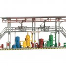 Piko HO 61105 CLASSIC LINE TANK STATION FILL RACKS, BUILDING KIT (HO-SCALE) Mint In Box