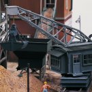 Piko HO 61126 CLASSIC LINE SAND WORKS UNLOADING CRANE, BUILDING KIT (HO-SCALE) Mint In Box