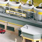 Piko HO 61130 CLASSIC LINE CONCRETE PLANT MIXING BUILDING, BUILDING KIT (HO-SCALE) Mint In Box