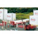 Piko HO 61141 CLASSIC LINE ESSO TANK FARM COMPLEX, BUILDING KIT (HO-SCALE) Mint In Box