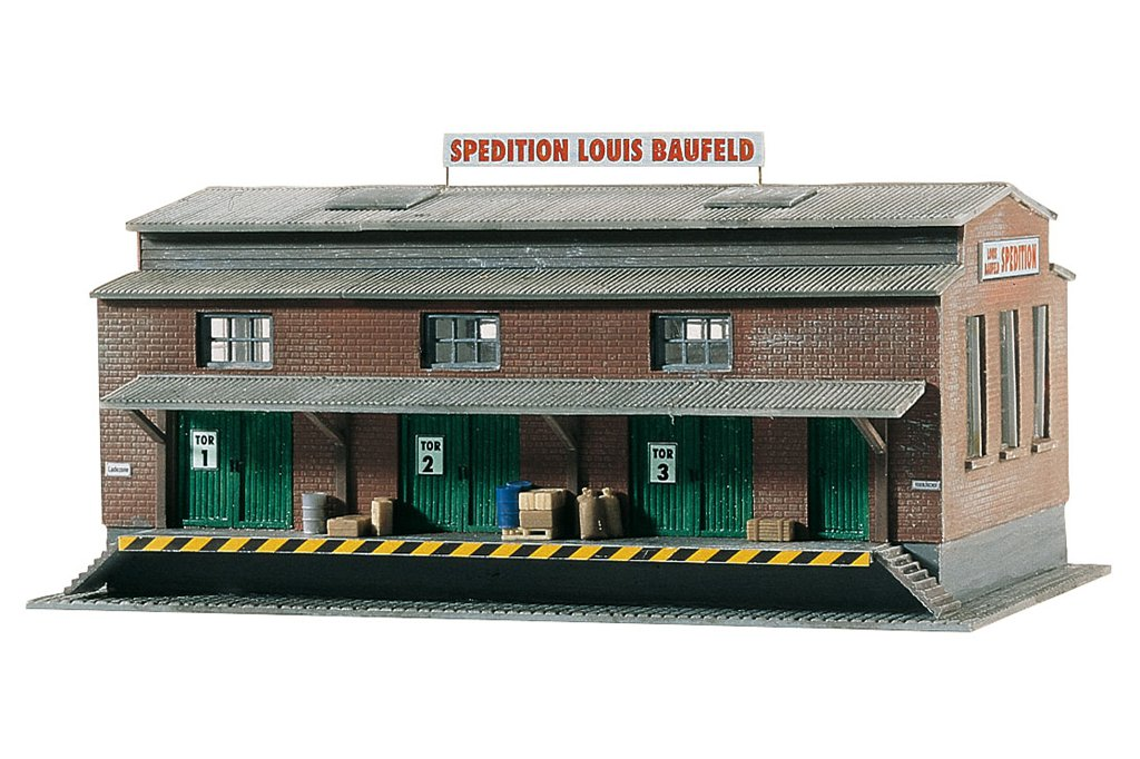 Piko N 60015 LOUIS BAUFELD FORWARDER, BUILDING KIT (N-SCALE) Mint In Box