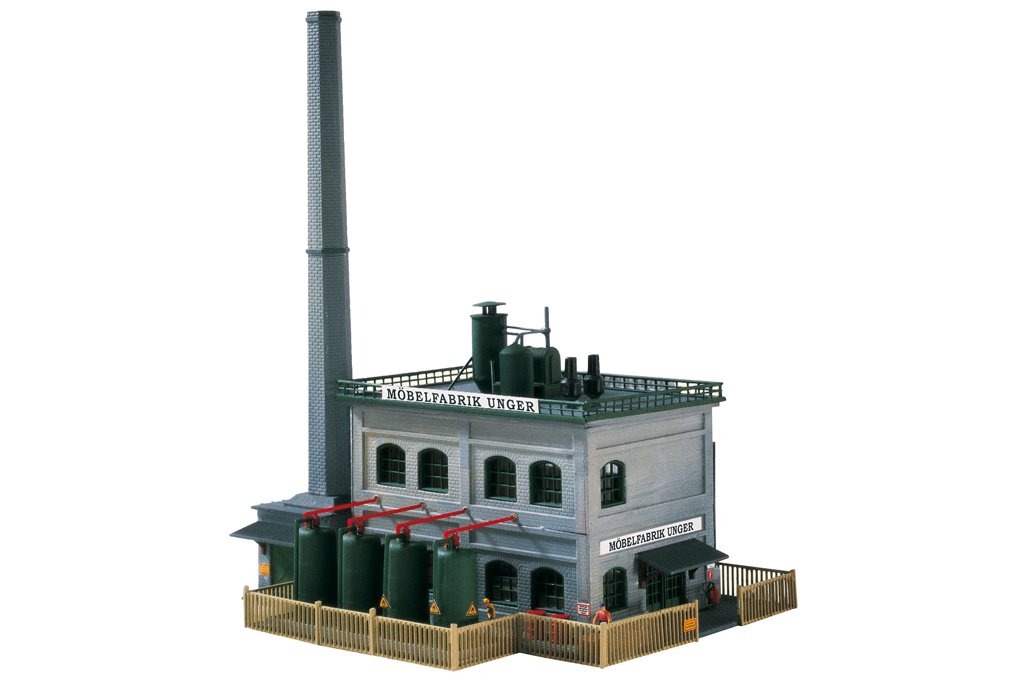 Piko N 60029 A UNGER FURNITURE FACTORY, BUILDING KIT (N-SCALE) Mint In Box
