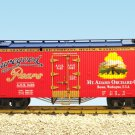 USA Trains R16454 Shuregood Pears – Red/Blue Mint In Box