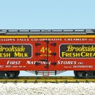 USA Trains R16479 Brookside Creamery – Oxide/Black Mint In Box