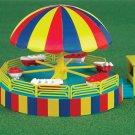 Bachmann HO 46242 OPERATING KIDDIE BOAT CARNIVAL RIDE KIT Mint In box