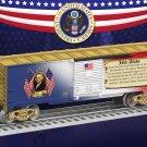 Lionel 6-25930 JOHN ADAMS BOXCAR Mint In Box