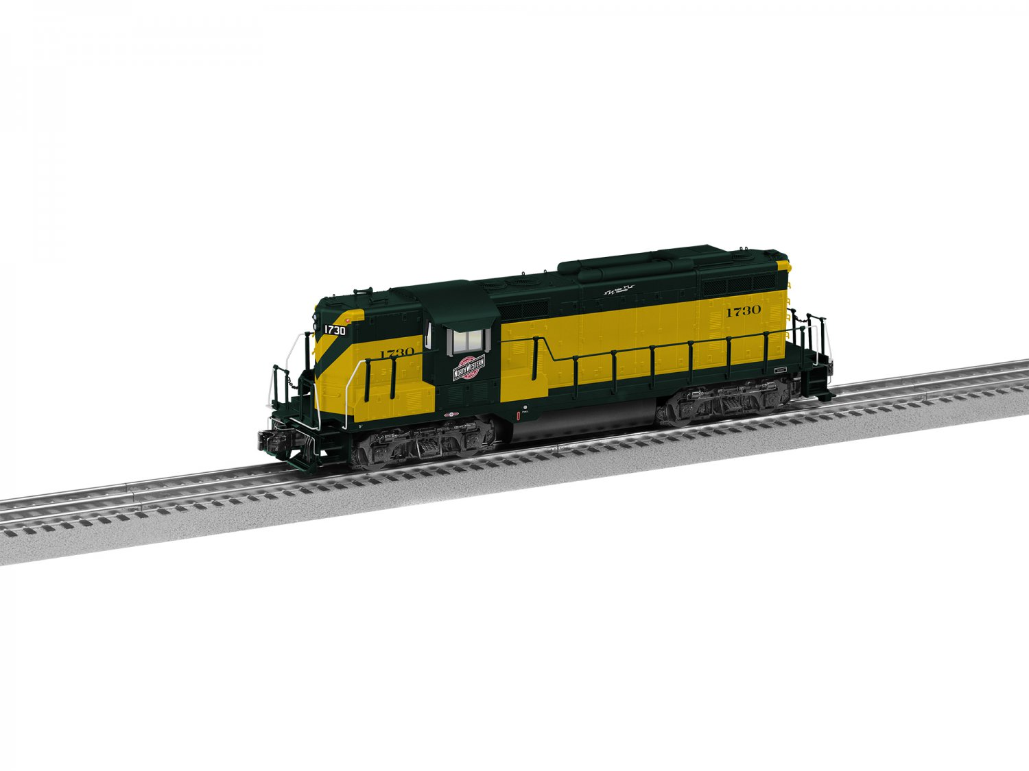 Lionel 6-84273 CHICAGO & NORTH WESTERN TORPEDO LEGACY GP9 #1730 Mint In box