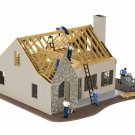 Lionel 6-84792 PLUG-EXPAND-PLAY HOUSE UNDER CONSTRUCTION Mint In Box