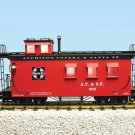 USA Trains R12004 Santa Fe Woodside Caboose Mint In Box