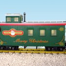 USA Train R12025 Christmas Woodsided Caboose Mint In Box
