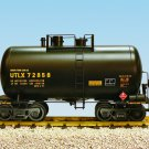 USA Trains R15202 UTLX - Black, Yellow Printing Beer Can tank Car Mint in box