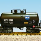 USA Trains R15204 GATX - Black 29' Tank Car Mint In box