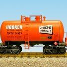 "USA Trains R15206 Hooker Chemicals - Orange, Black 29"" Tank Car Mint In Box"
