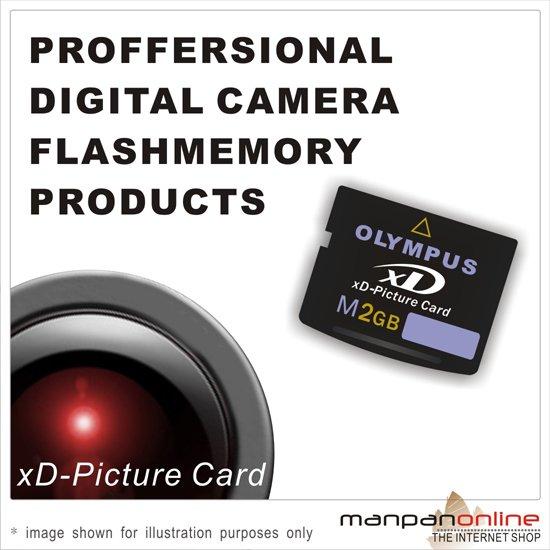 Genuine Olympus 2GB XD Picture Memory Card (Type M series)