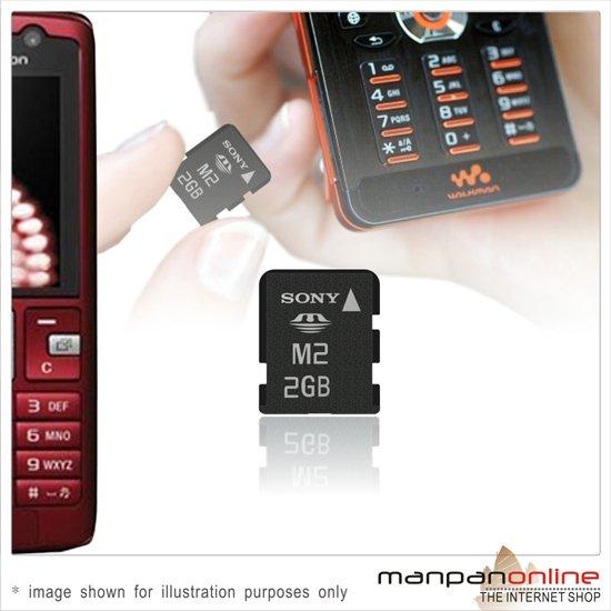 Genuine SONY Memory Stick Micro M2 2GB  Memory Card