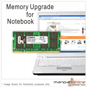 NEW KINGSTON 1GB DDR2 667 5300 SODIMM MEMORY LAPTOP RAM