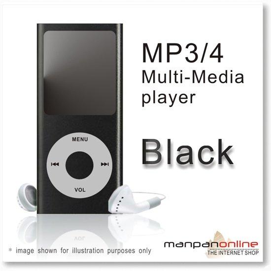 """MP3 MP4 Portable Multi Media Player 1.8"""" LCD w/ 2GB black"""
