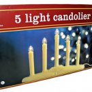 5 Light Electric Window Candle